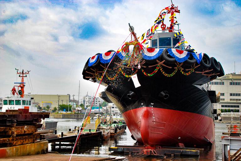 """港の働きアリ、タグボートを 整備する責任と建造する喜び。求む!""""ものづくり""""への情熱。"""