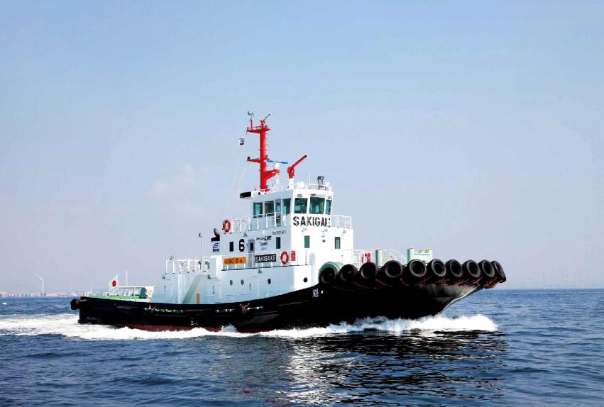 LNGタグボート「魁」